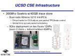 ucsd cse infrastructure