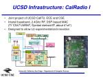 ucsd infrastructure calradio i
