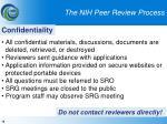 the nih peer review process14
