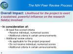 the nih peer review process15