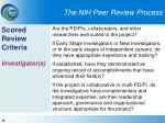 the nih peer review process18
