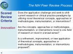 the nih peer review process19