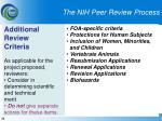 the nih peer review process23