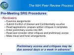 the nih peer review process33