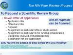 the nih peer review process6