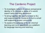 the cardenio project