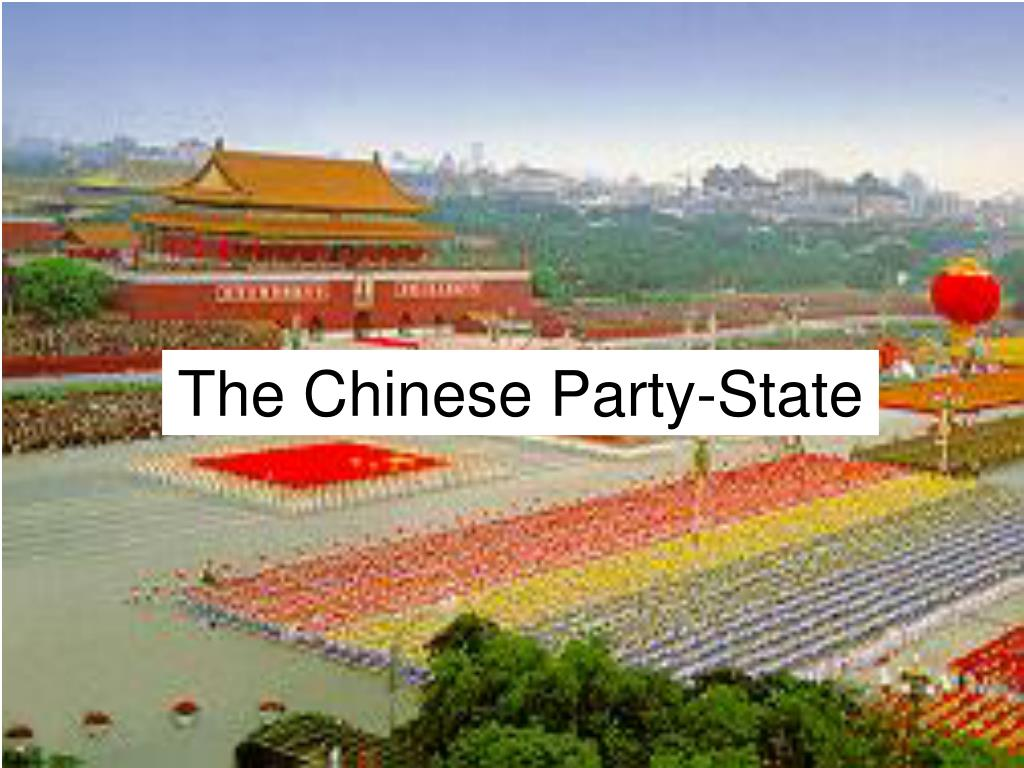 the chinese party state l.