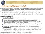 3 ecological resources soils