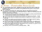 4 noise permissible noise levels