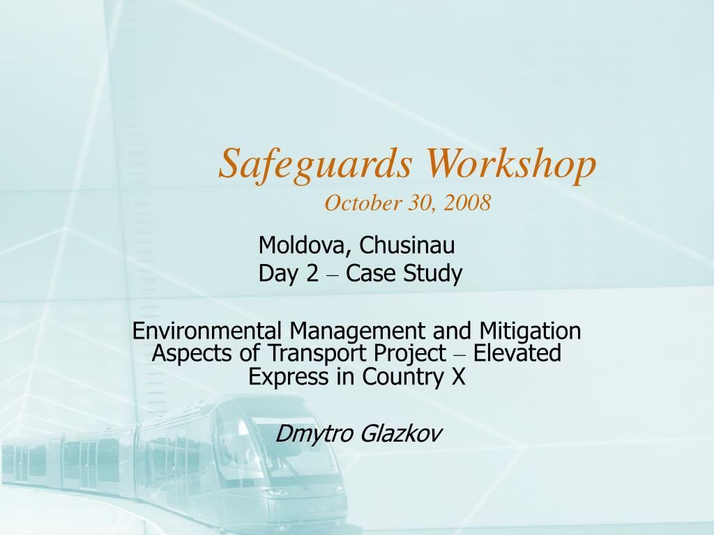 safeguards workshop october 30 2008 l.