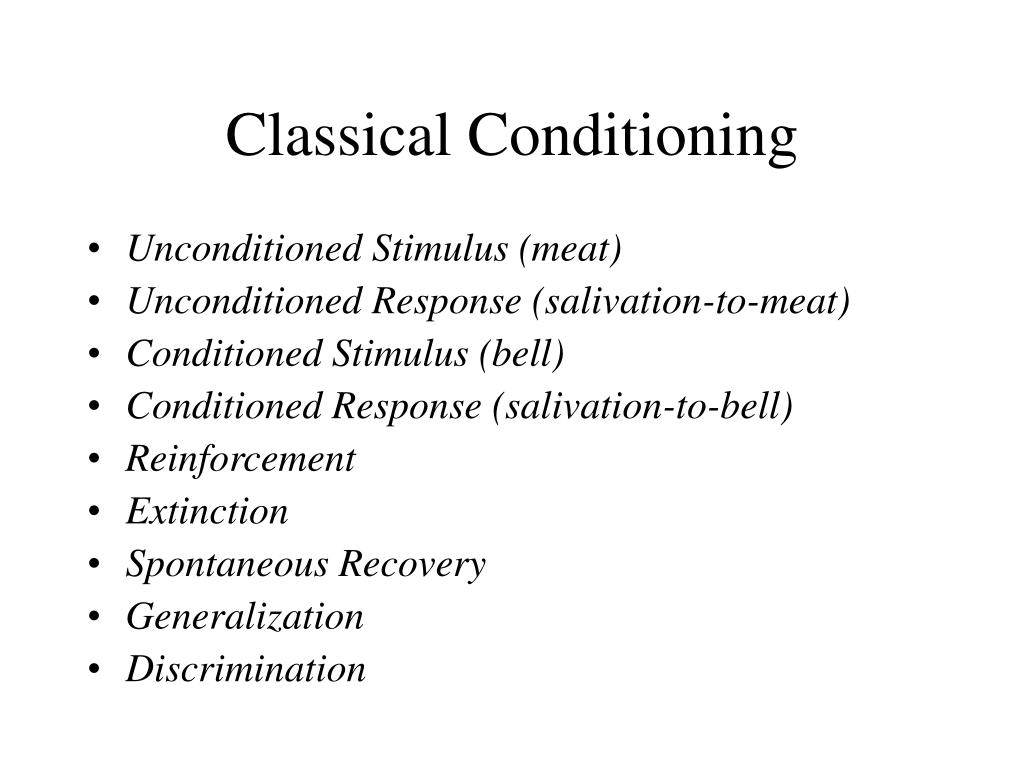 classical conditioning l.