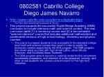 0802581 cabrillo college diego james navarro