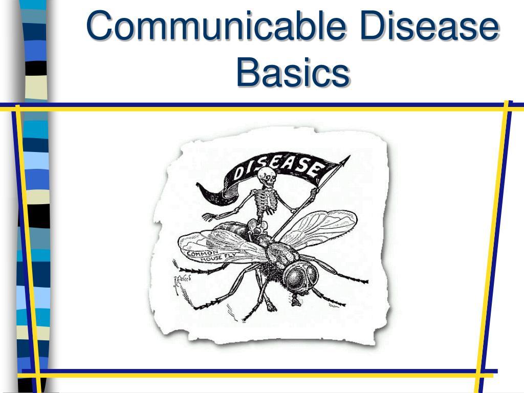 communicable disease basics l.
