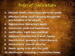 order of salvation