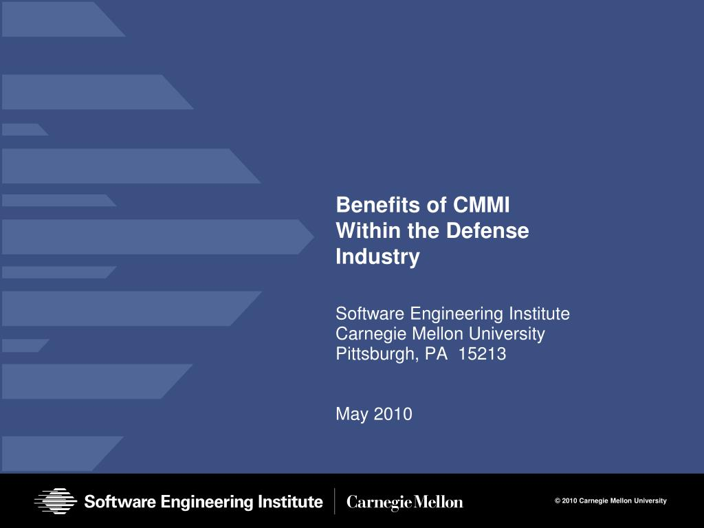 benefits of cmmi within the defense industry l.