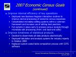 2007 economic census goals continued10