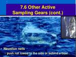 7 6 other active sampling gears cont43