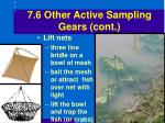 7 6 other active sampling gears cont44