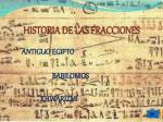 historia de las fracciones3