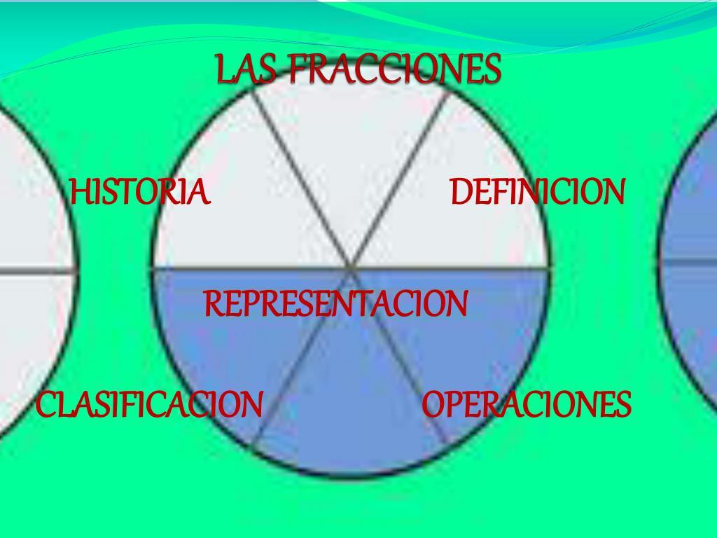 las fracciones l.