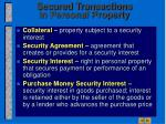 secured transactions in personal property4