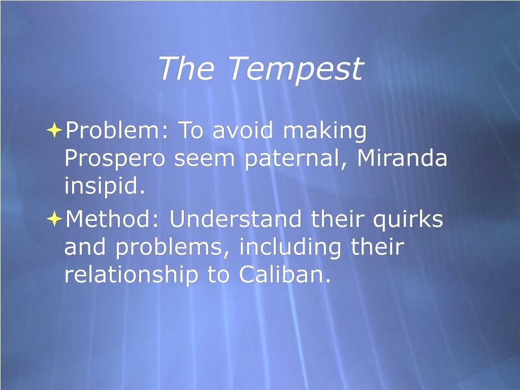the tempest l.