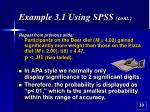 example 3 1 using spss cont33