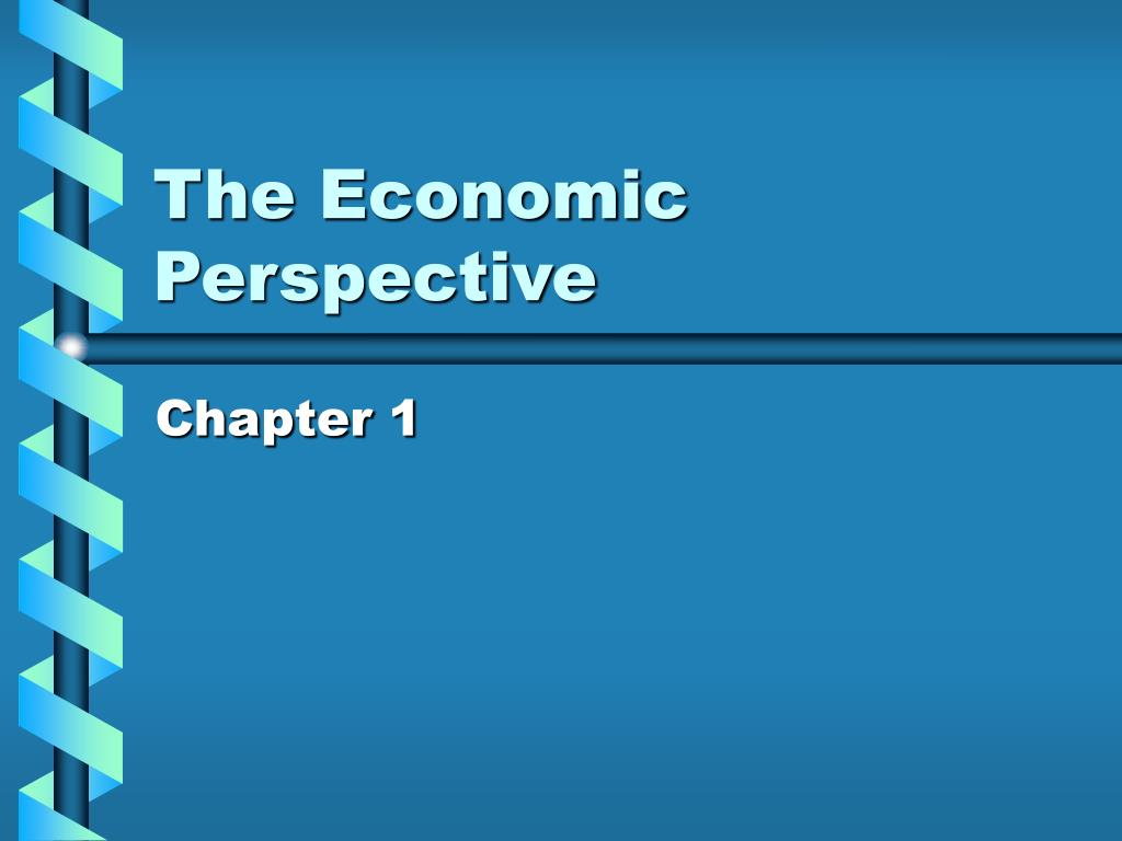 the economic perspective l.