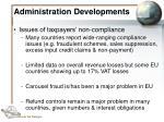 administration developments35