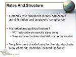 rates and structure26
