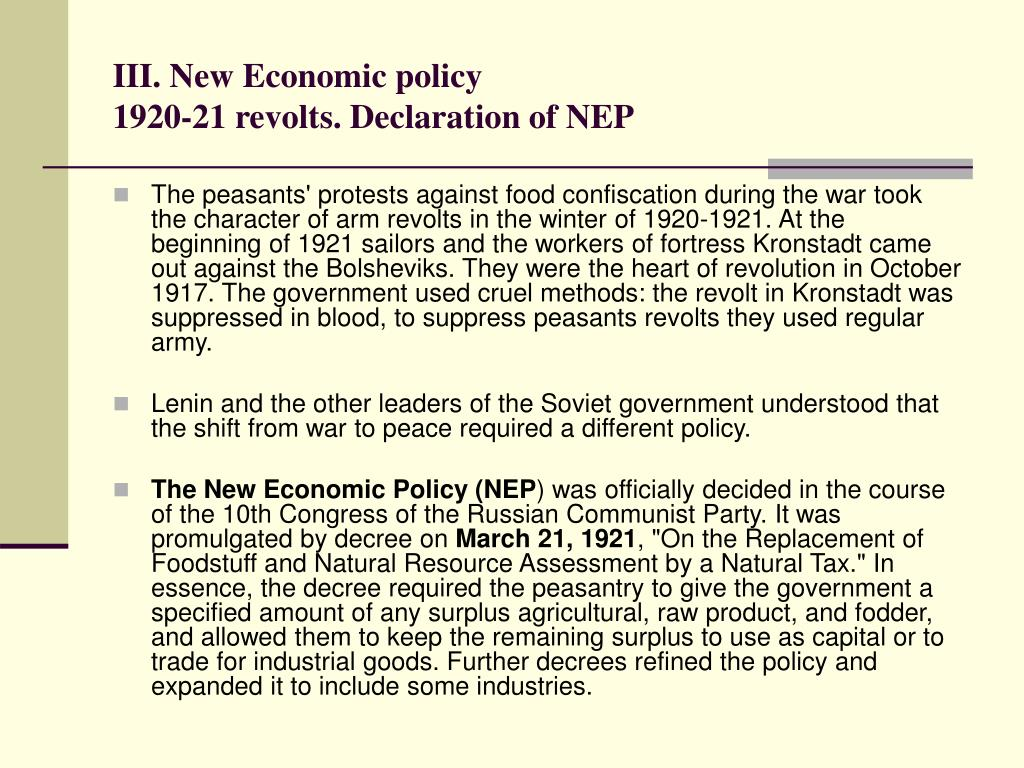 the impact of war communism and new economic policy nep on the proletariat and the peasantry