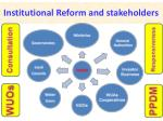 institutional reform and stakeholders