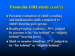 from the gri study con t31