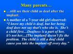 many parents27