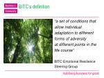 bitc s definition