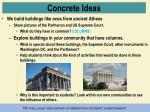 concrete ideas4