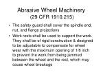 abrasive wheel machinery 29 cfr 1910 215