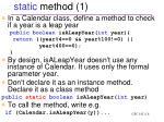 static method 1