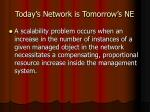 today s network is tomorrow s ne