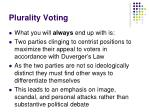 plurality voting5