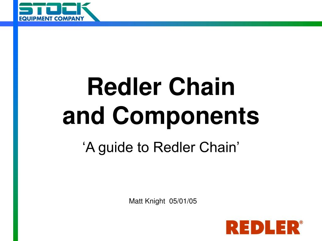 redler chain and components l.