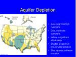 aquifer depletion