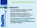legislative procedure in croatia5