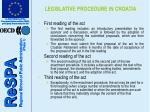 legislative procedure in croatia6