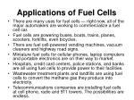 applications of fuel cells20