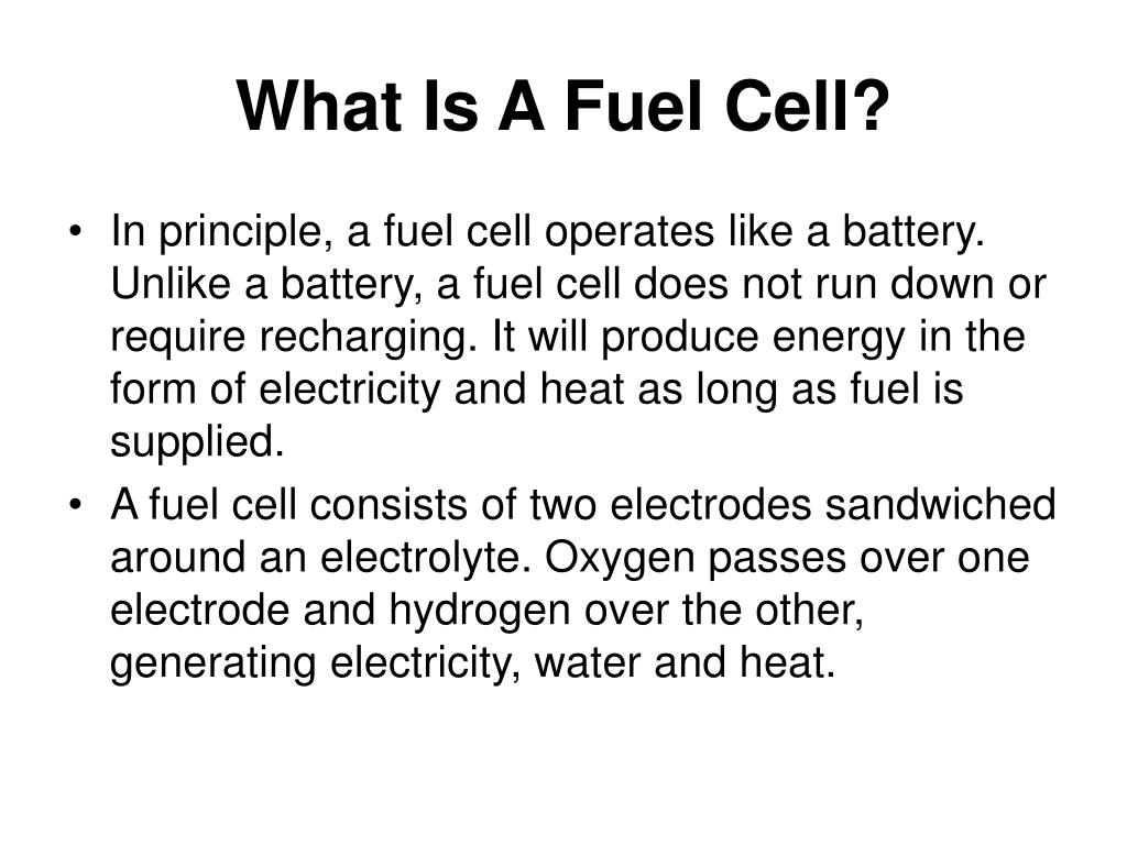 PPT - Fuel Cells PowerPoint Presentation - ID:513173
