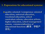 1 expressions for educational systems17
