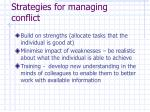 strategies for managing conflict30