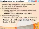 cryptographic key principles