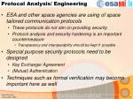 protocol analysis engineering
